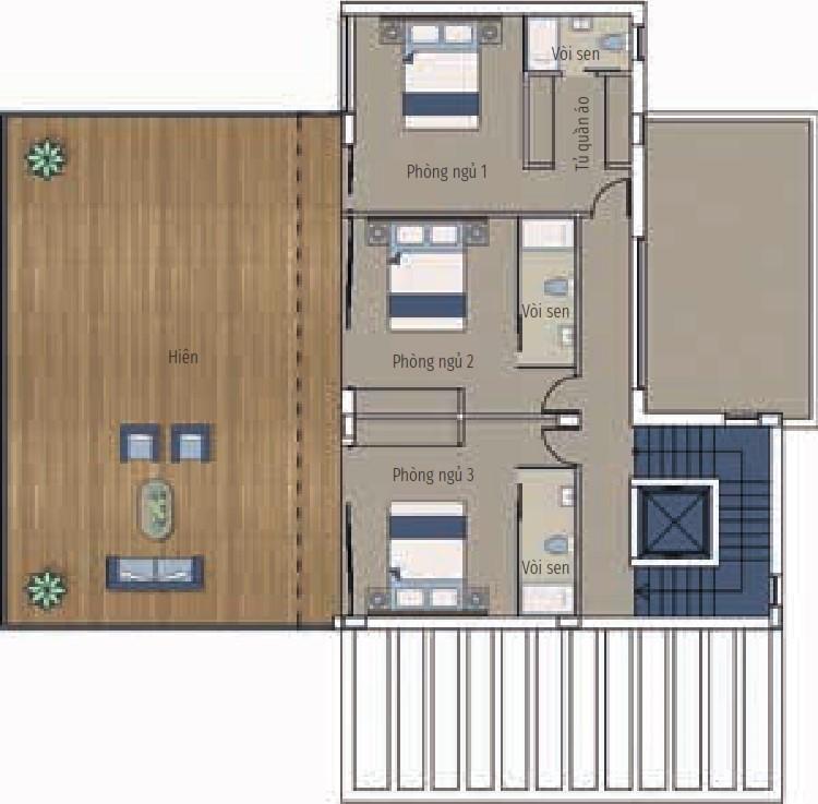 Bất động sản Citrine - Biệt thự 4 phòng ngủ