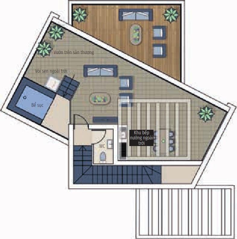 Bất động sản Citrine - Nhà ở 3 phòng ngủ
