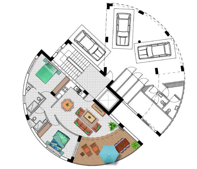 Block căn hộ A và B - Dự án Eden - Bất động sản Citrine