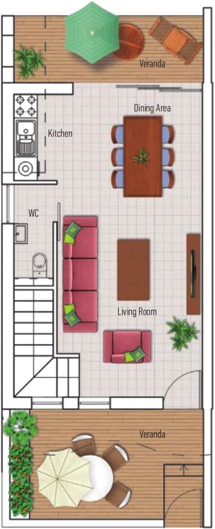 Nhà phố - Dự án Eden - Bất động sản Citrine