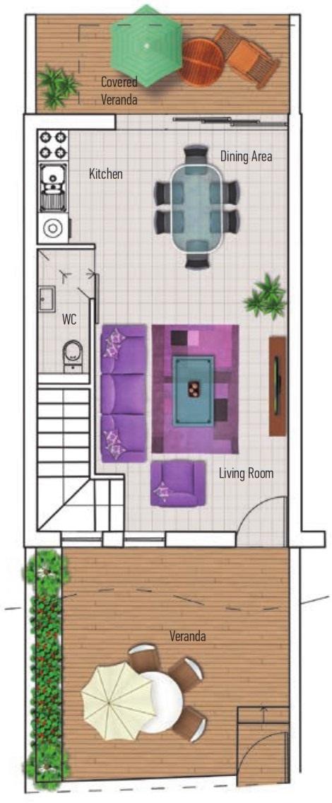 Nhà phố - Dự án Azalea - Bất động sản Citrine